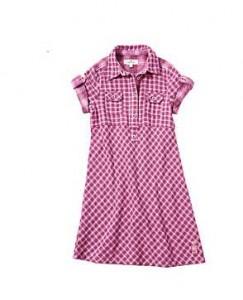 Ein Beispiel für schöne Mode für Mädchen