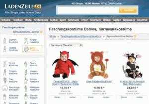 Kinderfaschingskostüme online