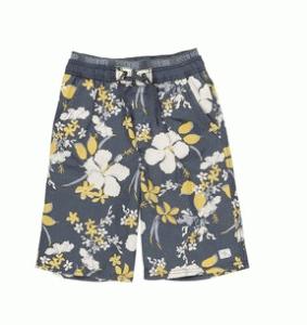 Blümchen-Shorts für Jungen
