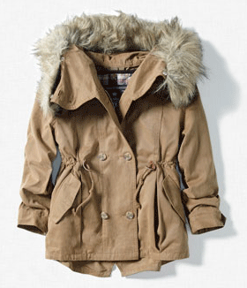 Kinder-Parka von Zara