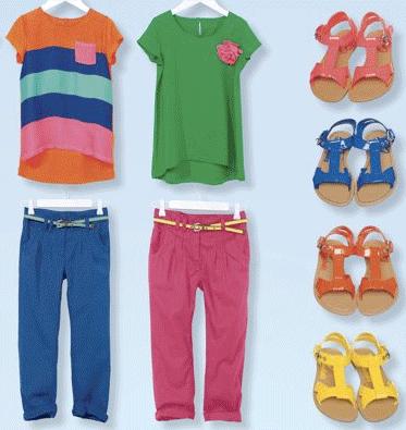 farbenfrohe Kindermode von Next