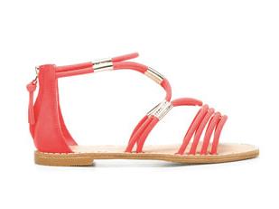 Pinke Sandalen von Zara