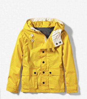 Parka für Jungen gelb Zara
