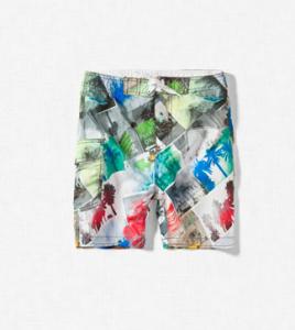 Boardshorts mit Print von Zara