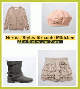 Mädchen-Bekleidung für den Herbst