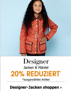 Debenhams Kinderjacken Sale