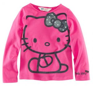 4. Hello Kitty Shirt gesehen bei H&M für 10 EUR