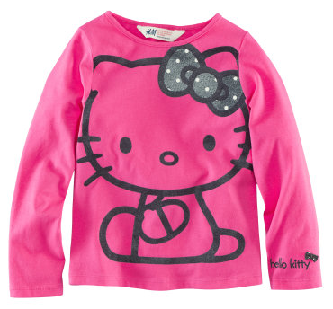 hello kitty shirt kindermode online. Black Bedroom Furniture Sets. Home Design Ideas