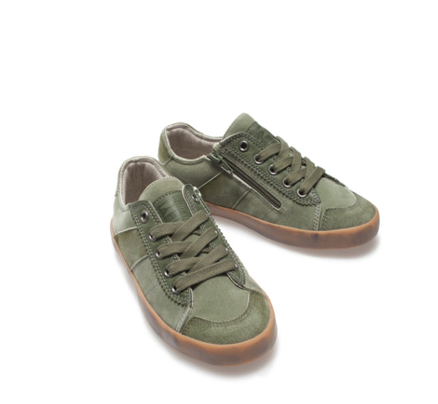 Zara Camo Sneaker
