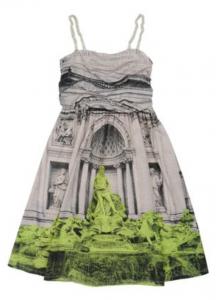 Moschino Teen Kleid 110 EUR gesehen bei yoox.com