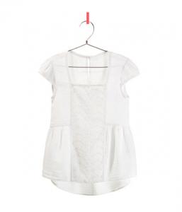 Bestickte Bluse von Zara 19,95 EUR
