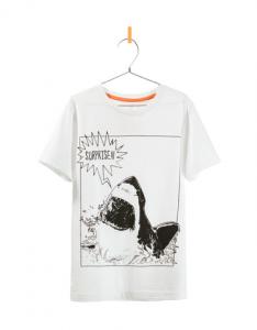 T-Shirt mit Hai 6,95 von Zara (Bild von Zara.com)
