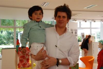 Klein und Fein Gründer mit Sohn