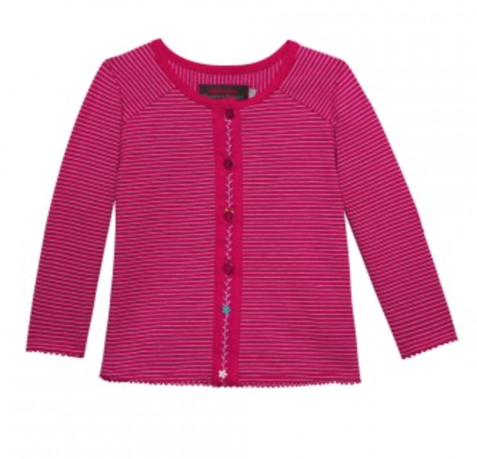 Strickjacke von Catimini.com in fuchsia