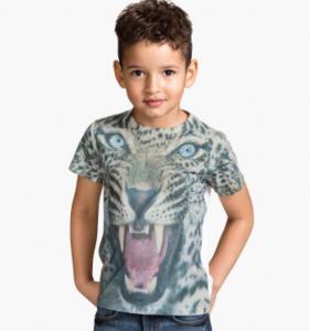 H&M Jersey T-Shirt mit Druck 7,95 (hm.com)