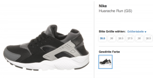 Nike Huarache bei hhv